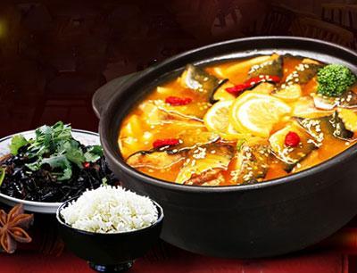 非池中酸菜番茄鱼饭