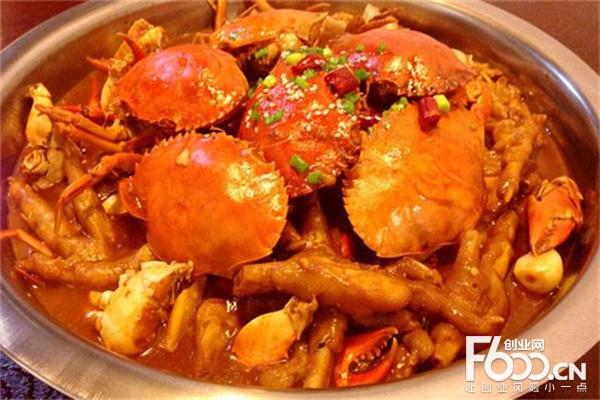 蟹老板肉蟹煲