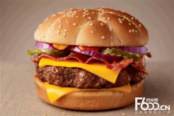 优迈美式汉堡