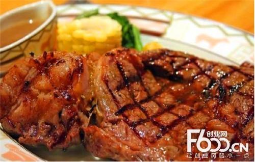 菲度厚烤牛排图片
