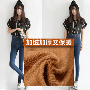 李涛牛仔女裤