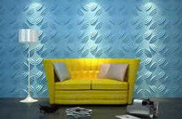 欧麦仕立体魔变装饰墙