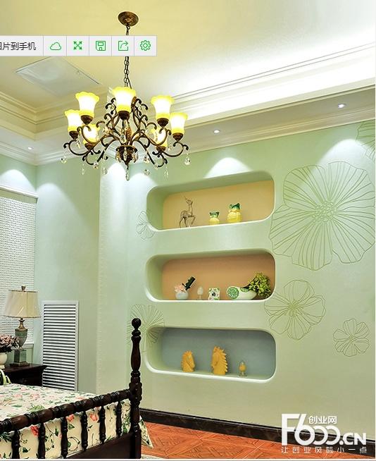 硅藻泥卧室装饰效果图