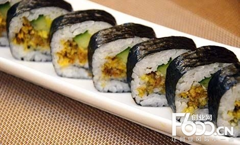 鲜目录外带寿司加盟