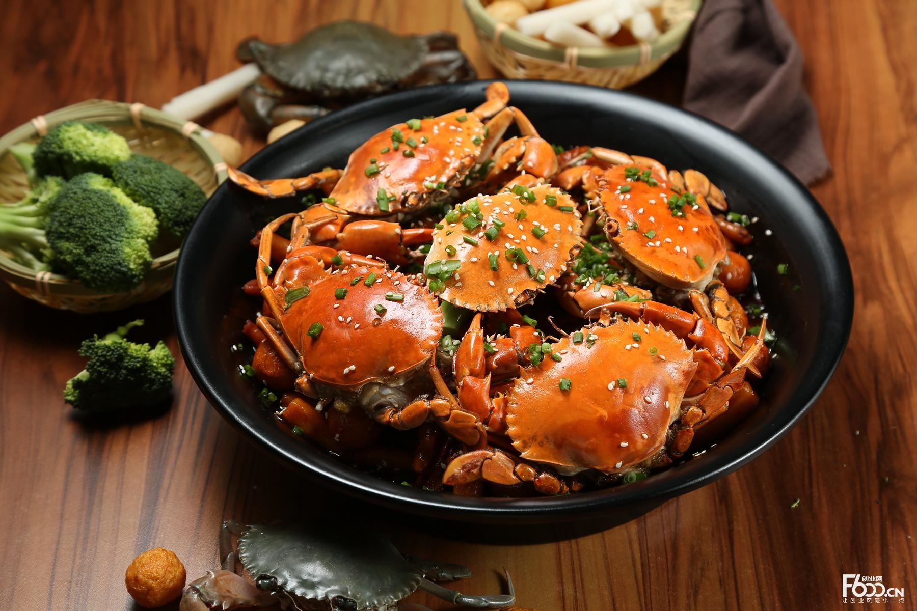 唠叨婆肉蟹煲加盟