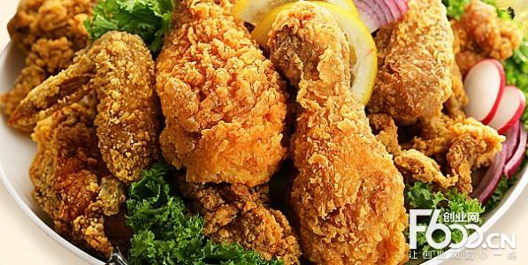 汉村炸鸡图片