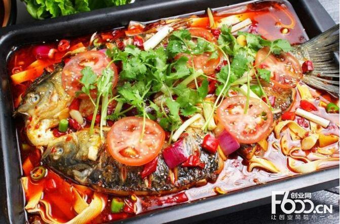蜀江烤鱼图片
