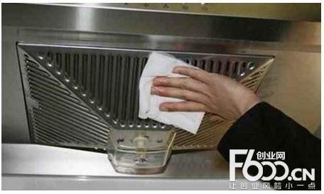 雪猫大型油烟机清洗