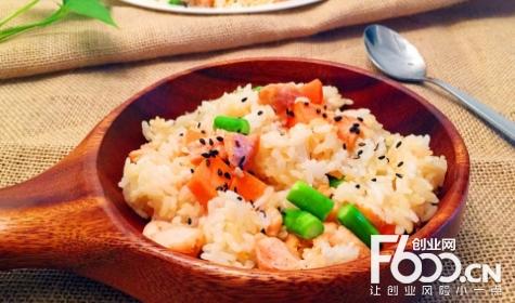 龙门铁板海鲜炒饭