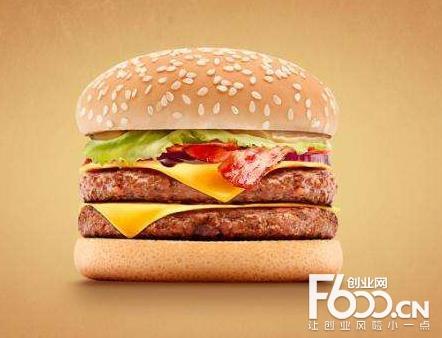 华客士汉堡图片