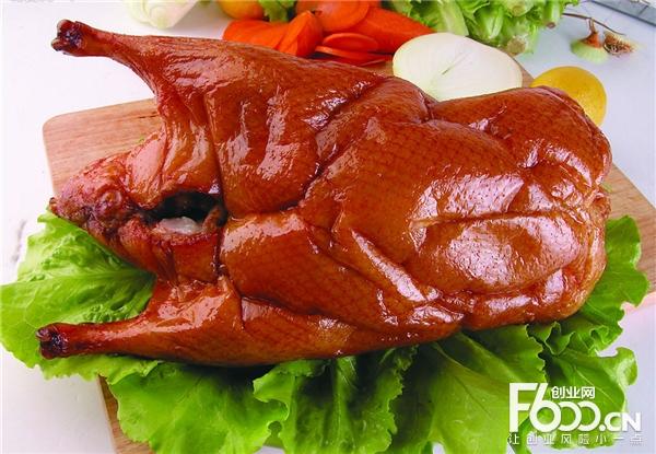 七公江湖果碳烤鸭