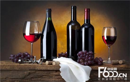 桑醇红酒图片