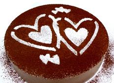 慕斯巧克力蛋糕