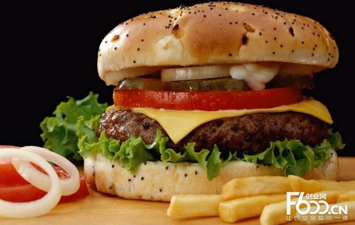 麦乐汉堡图片