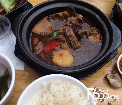 朱记黄焖鸡米饭加盟