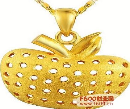 金苹果首饰