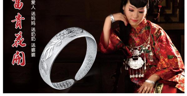 在古代,银饰是贵族身份的象征.图片