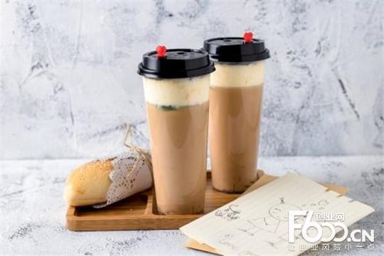 鲸饮屋奶茶加盟