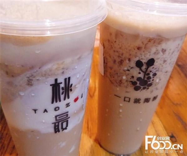 桃最奶茶加盟