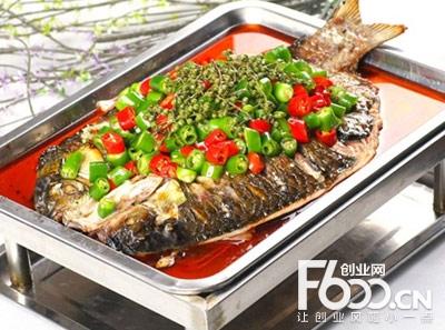 渔越江边烤鱼