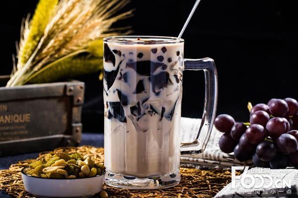 花言茶色港式奶茶加盟